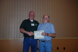 President Mike Barsotti and Ron Guttridge